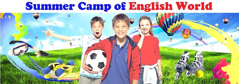 Summer Camp of English World